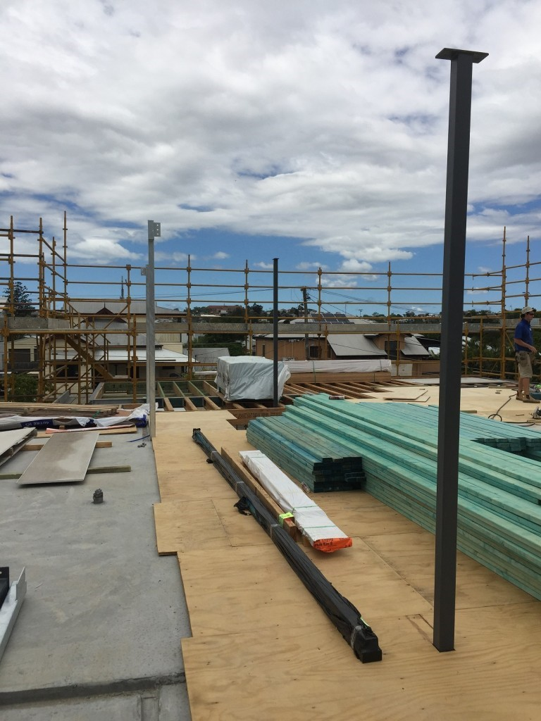 Bulimba residential project in construction